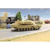 Waltersons RC Tank U.S. M1A1 Abrams Desert Yellow 1:72 6