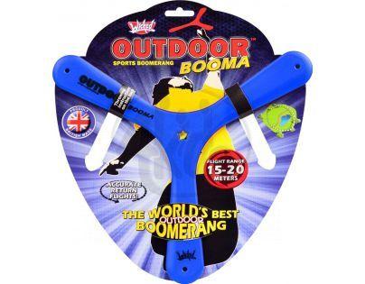 Wicked Outdoor Booma Bumerang - Modrý