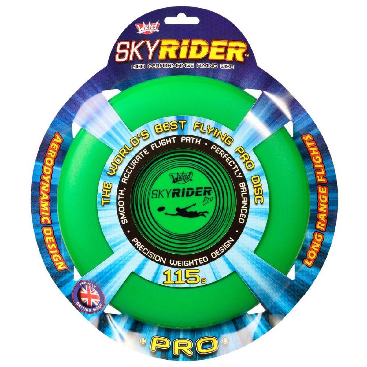 Wicked Sky Rider Pro talíř - Zelený