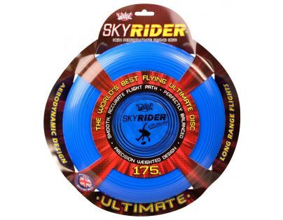Wicked Sky Rider Ultimate talíř - Modrý