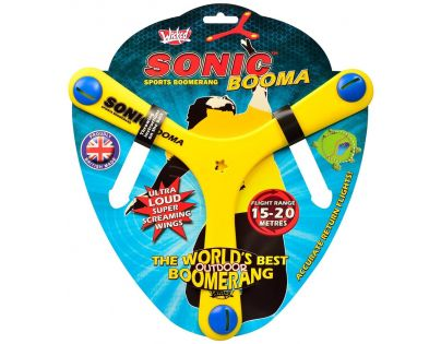 Wicked Sonic Booma Bumerang - Žlutý