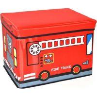 Wiky Box na hračky 40 cm Hasičské auto