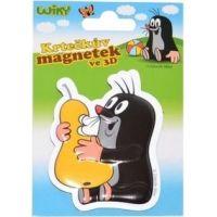 Wiky Krteček Magnet 3D 7,5 cm hruška