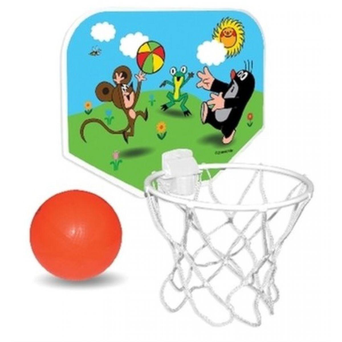 Sada košíková basketbal Krtek v krabici plast
