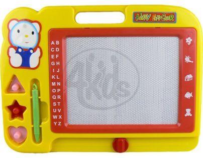 Wiky Magnetická tabulka kreslící - Žlutá