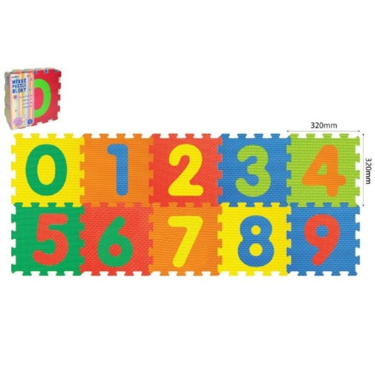 Wiky puzzle Číslice 10 ks