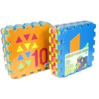 Wiky Pěnové puzzle Počítání Tvary 30 x 30 cm 10ks