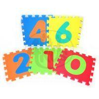 Wiky Pěnové puzzle Číslice 10 ks