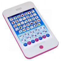 Wiky Tablet Mini česko-anglický 20cm - Růžová