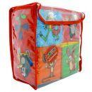 NELUN 5019 - Kostka Krtek textilní rozkládací 16x16cm v plastové tašce 2