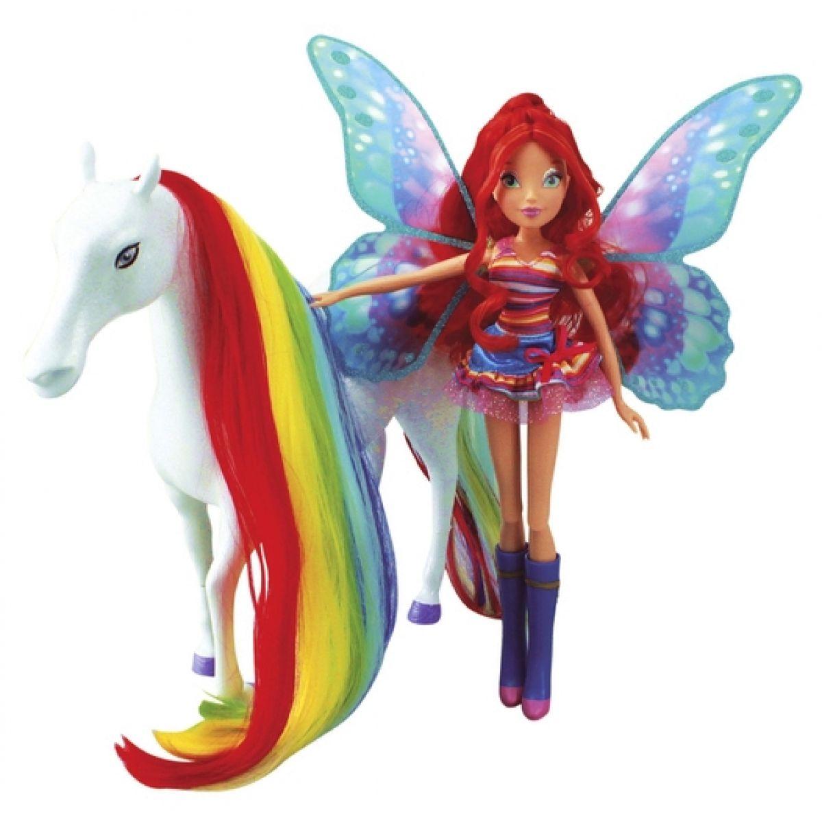 Panenka WinX Bloom a magický kůň