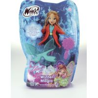 Winx Panenka Winter Magic - Flora 2