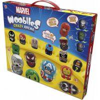 TM Toys Wooblies Marvel Bojová Aréna s 2 turbo vystřelovači