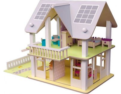 Woody Domeček s balkonem Nancy