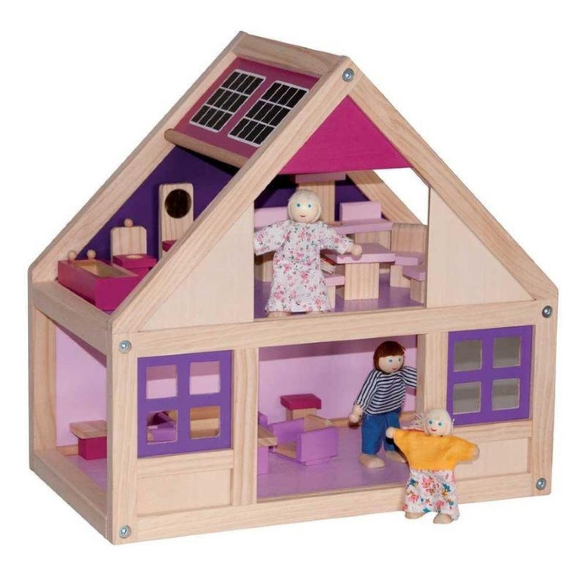 Woody Domeček pro panenky s příslušenstvím Trendy