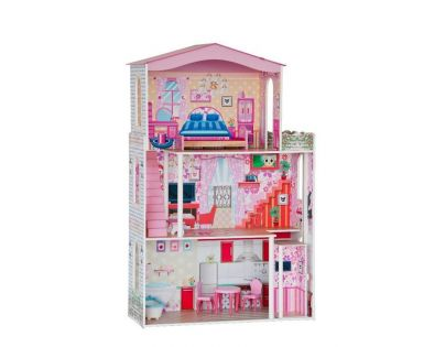 Woody 91163 - Velký domeček pro panenky typu Barbie