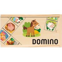Woody Domino Domáce zvieratá