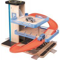 Woody Garáž s výtahem a příslušenstvím Dřevo, plast