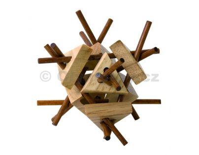 Woody 90693 - Hlavolam Tyčky s trojúhelníky