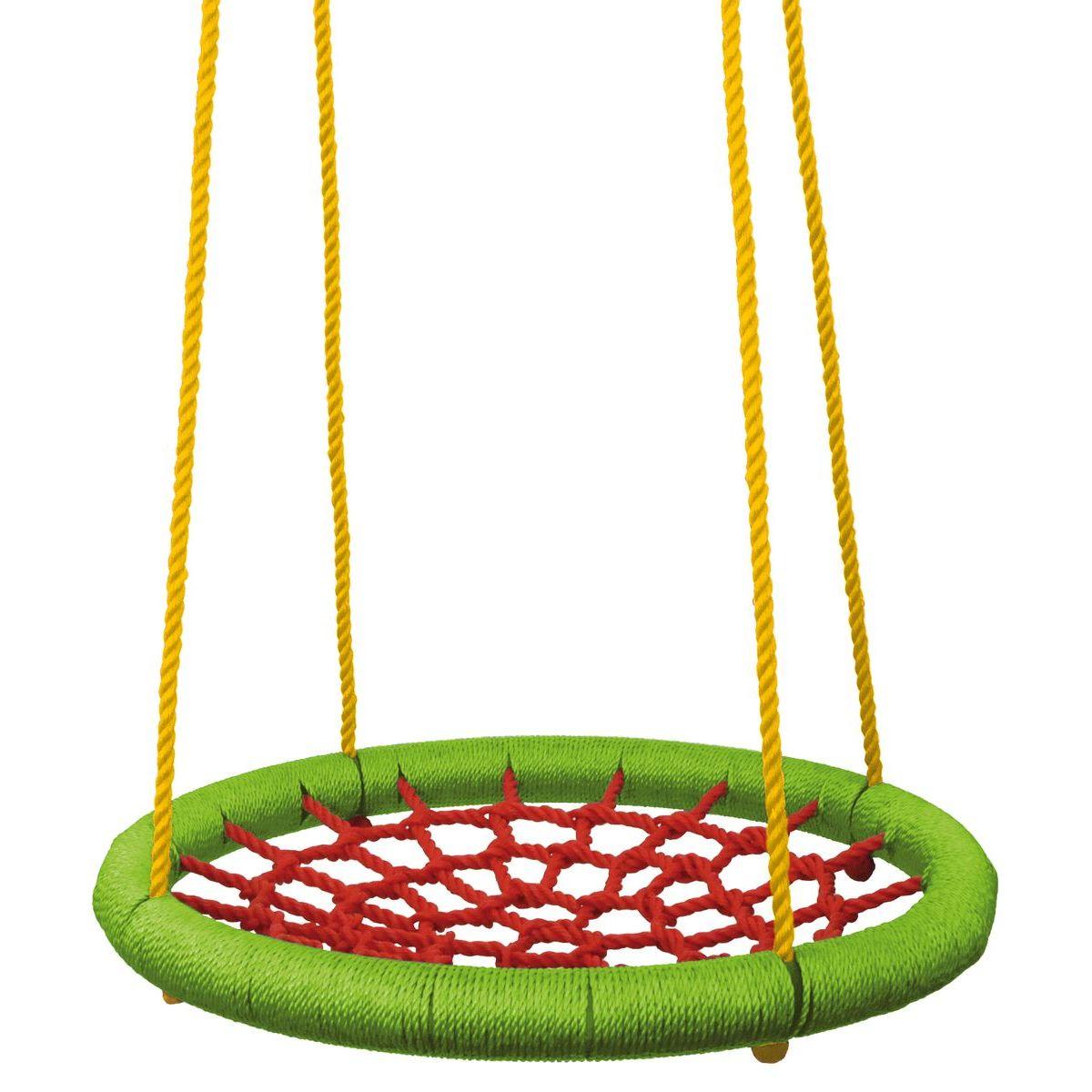 Woody Houpací kruh 83 cm zelenočervený