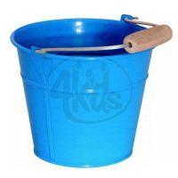 Woody Kovový kbelík modrý