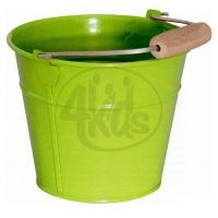 Woody Kovový kbelík zelený