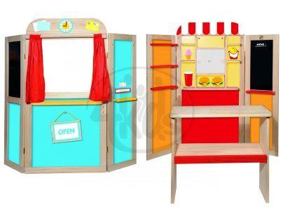Woody Kombinovaná dětská prodejna/pošta