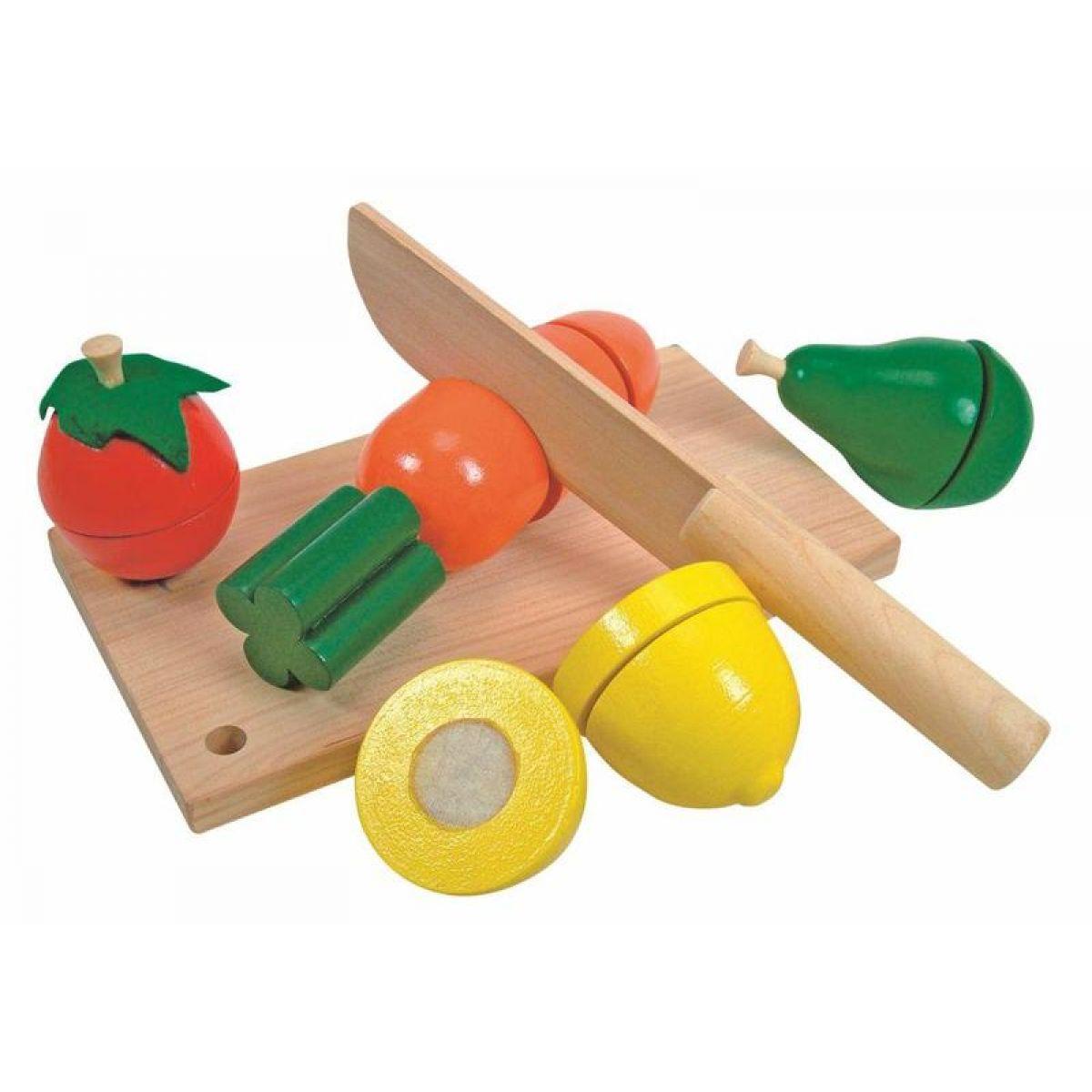 Woody Krájení ovoce a zeleniny na prkénku