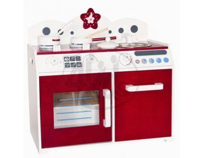 """Woody 91128 - Kuchyňka """"Lucie"""" děti s příslušenstvím"""