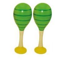 Woody Maracas zelené