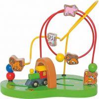 Woody Motorický labyrint Mašinka - Poškozený obal