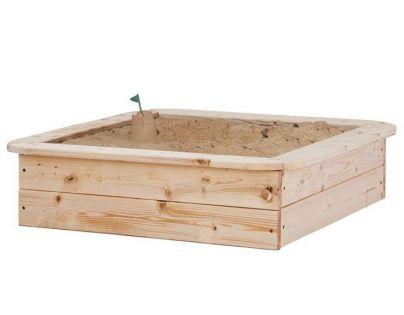 Woody Dřevěné pískoviště čtvercové