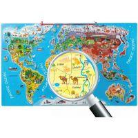 Woody Puzzle Mapa světa Orbis pictus 91d