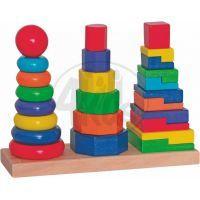 Woody 90836 - Set skládacích věží
