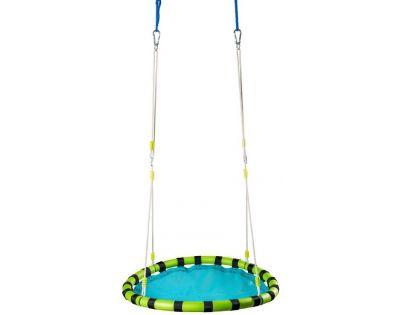Woody Skládací houpací kruh modrý