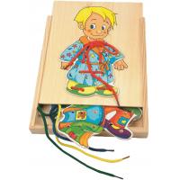 Woody Šněrovací šatní skříň Kluk