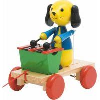 Woody Ťahací pes s xylofónom