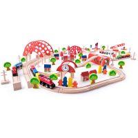 Woody Vláčkodráha s hlavním nádražím 130 dílů