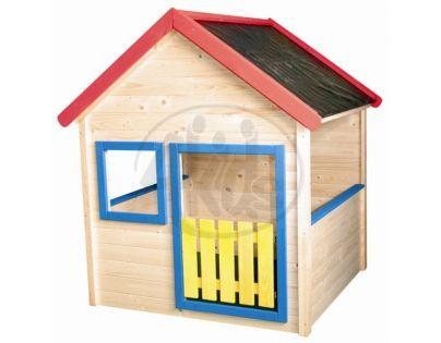 Woody Zahradní domeček s barevným lemovaním