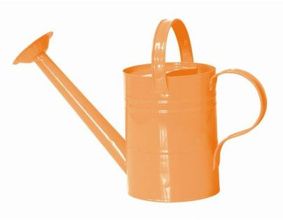 Woody Zahradní konvička kovová - Oranžová