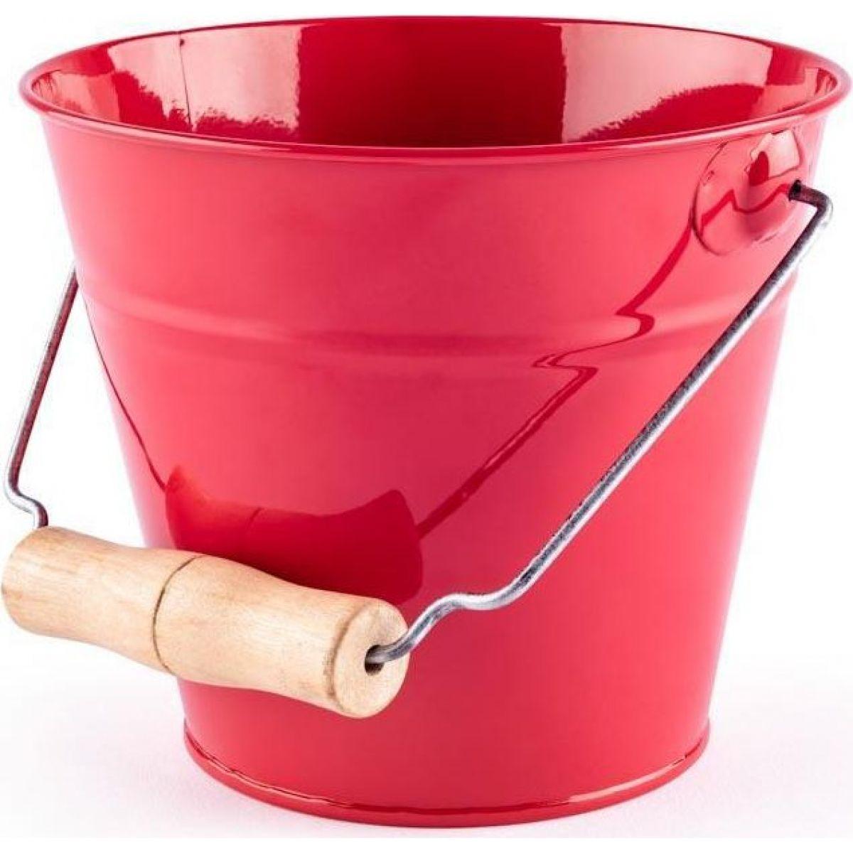 Woody Dětský zahradní kyblík červený