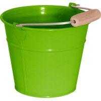 Woody Zahradní kyblík zelený kov