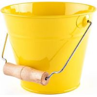 Woody Zahradní kyblík žlutý kov