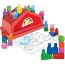 Wooky Block Crayon Domeček 18 ks pastelek 2