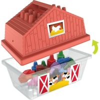 Wooky Block Crayon Domeček 18 ks pastelek 3