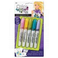 Wooky Color freedom 5 fixů na textil pastelové barvy