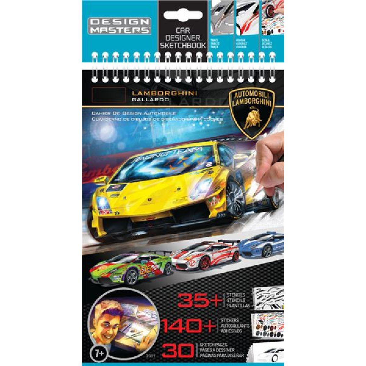 Design Masters 07001 - Lamborghini portfolio - malé