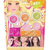 Wooky Style Me Up Křídy na vlasy 3 barvy Růžová, oranžová, zelená