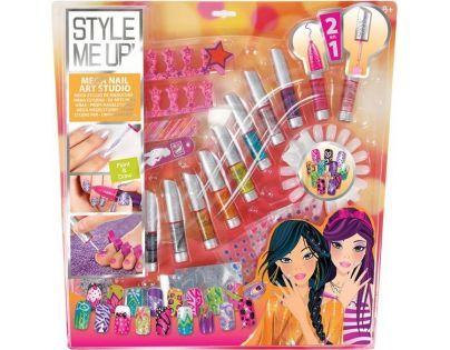 Wooky Style Me Up Perfektní nehty velký set