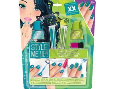 Wooky Style Me Up Perfektní sametové nehty zelené